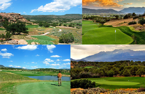 Red Ledges Real Estate in a Gated Golf Community in Heber City